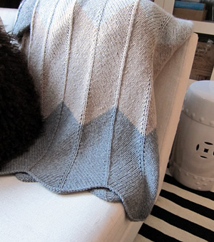 Chevron Knitting Pattern In The Round : Espace Tricot Patterns   FREE!   Espace Tricot Blog