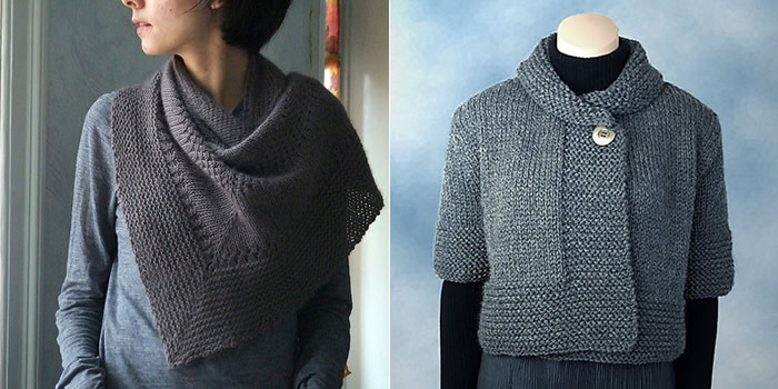 Free Pattern Friday Textured Shawl Nimbus Espace Tricot Blog