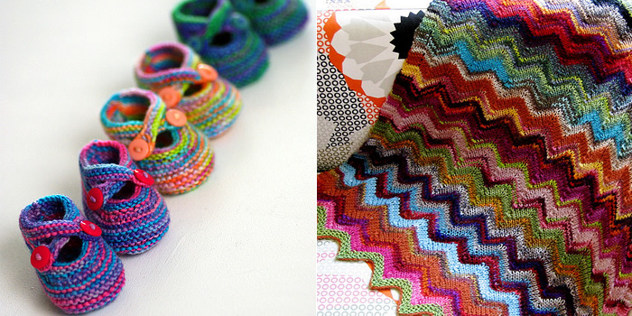 Free Knitting Patterns For Leftover Sock Yarn : Free Pattern Friday   Espace Tricot Blog