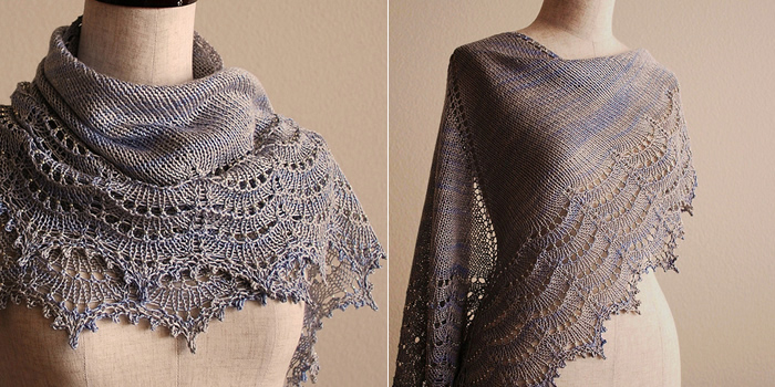 Free Pattern Friday Holden Shawlette Espace Tricot Blog