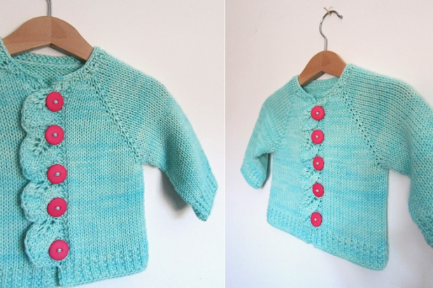 Top Down Knitting Patterns For Children Free : Store samples: Baby Sweaters!   Espace Tricot Blog