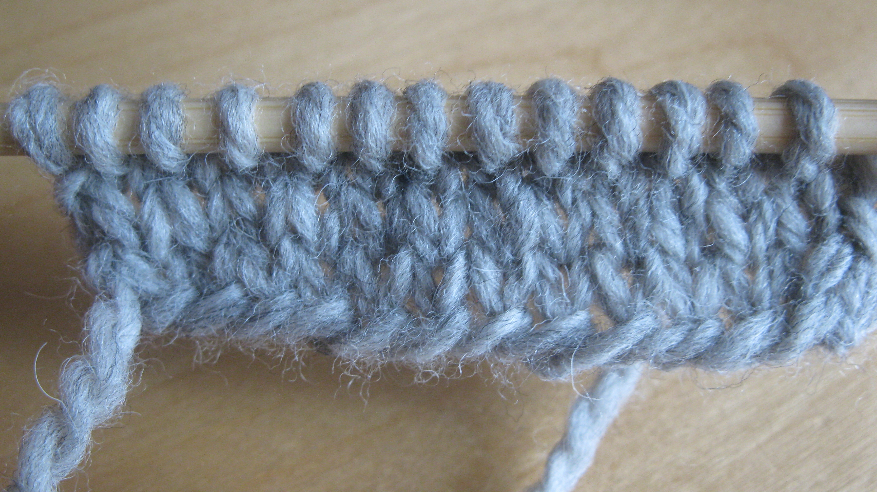 Knitting First Stitch Too Loose : Too tight? Let loose!   Espace Tricot Blog