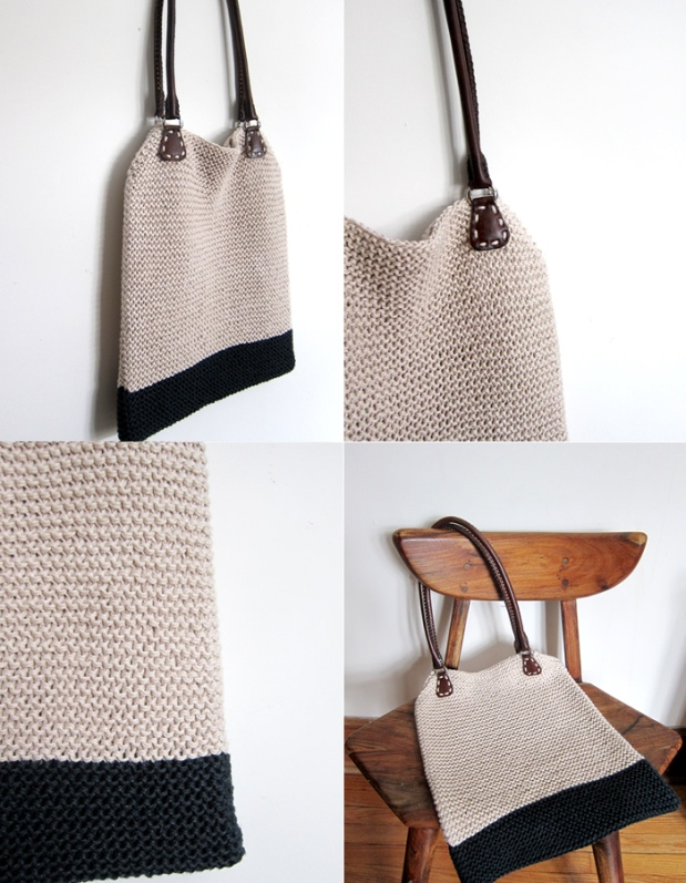 Need a simple (free) tote pattern? – Espace Tricot Blog