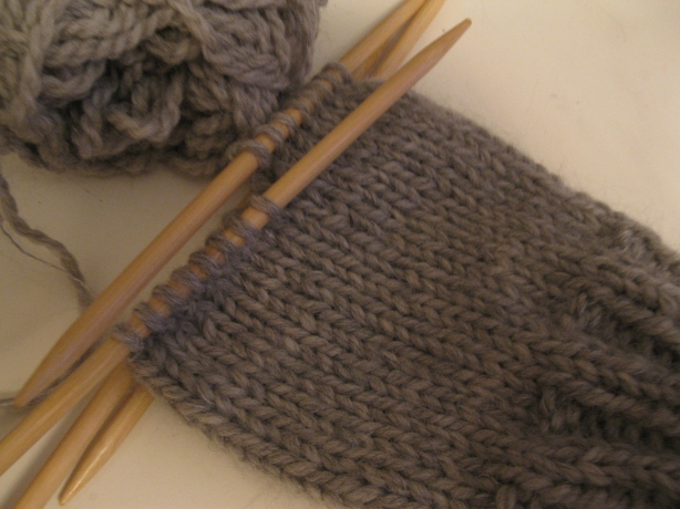 Knitting Put Stitches On Holder : How To Knit A Basic Mitten   Part 1   Espace Tricot Blog