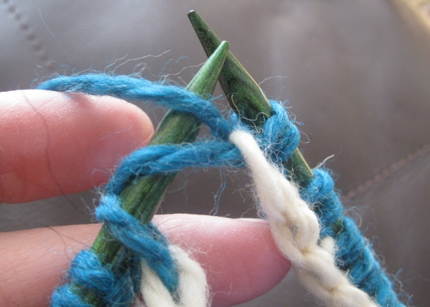 Knitting Stitches Sl1 Wyif : A New Technique For The New Year   Espace Tricot Blog