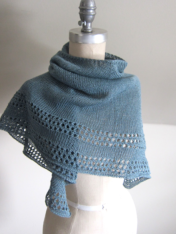 Knitting Patterns For Summer Shawls : Free Pattern Fridays Espace Tricot Blog Page 2