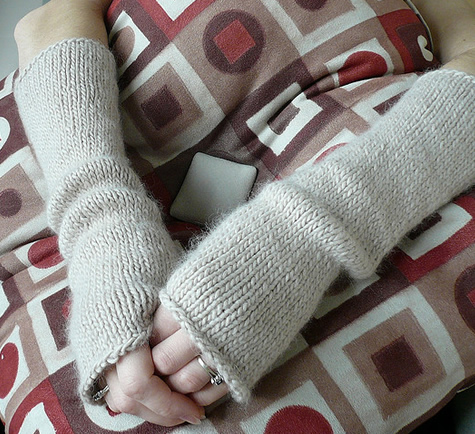 Free Pattern Friday Toast Armwarmers Espace Tricot Blog