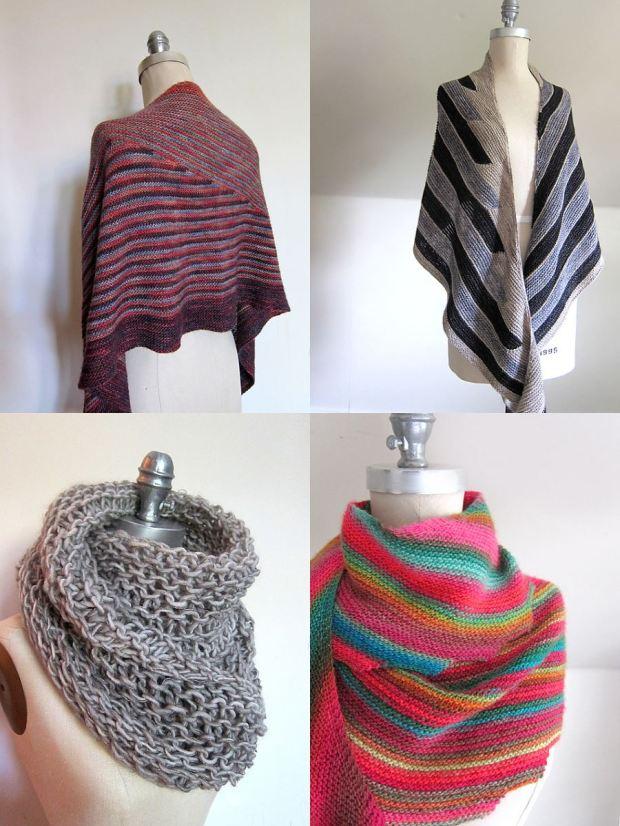 four shawls