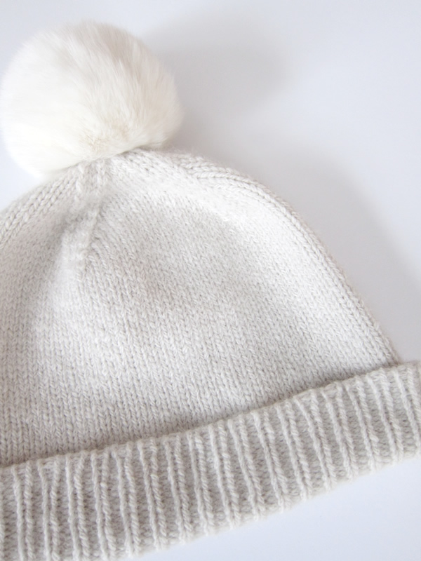 5cff6296671 Purl Soho s Classic Cuffed Hat really is just that – a classic. This simple  toque is elevated to luxurious heights
