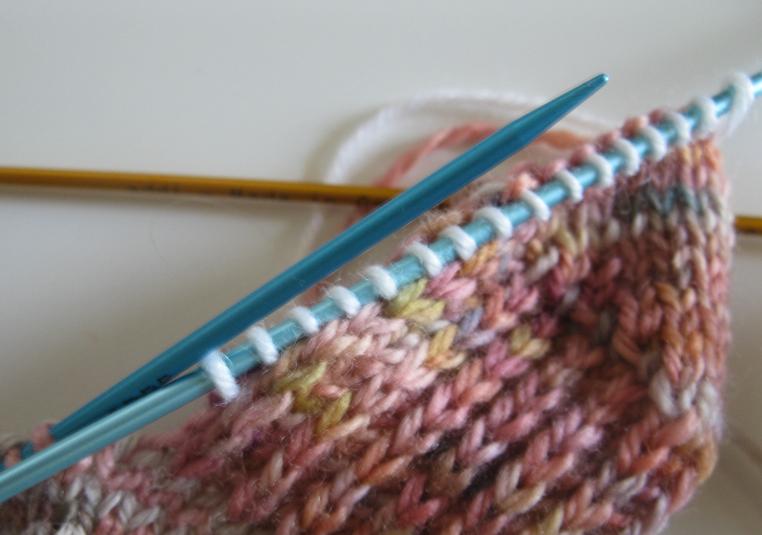 Picking Up Stitches In Knitting Socks : One For My Fellow Sock Knitters   This Is How I Do It   Espace Tricot Blog