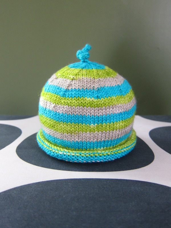 Scrumptious Baby Hat – Free Pattern – Espace Tricot Blog