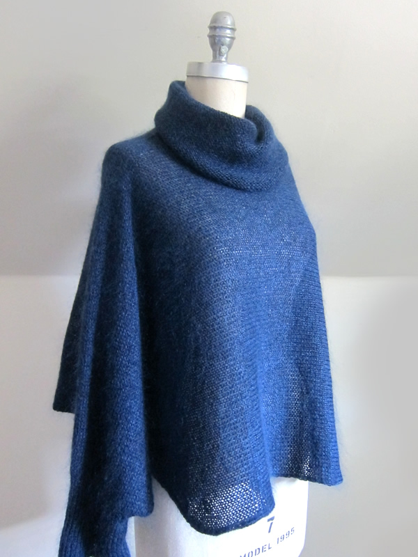 We love everything about the Cirrus pullover by Nancy O Connell (for  Shibui) – the unique shape, the length, the collar. The Shibui Silk Cloud  lends shimmer ... ef25560c544