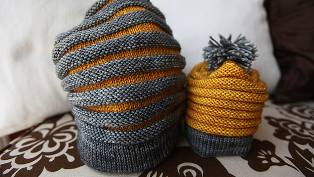 Come knit tuques with us + 10 free hat patterns!   Espace Tricot Blog