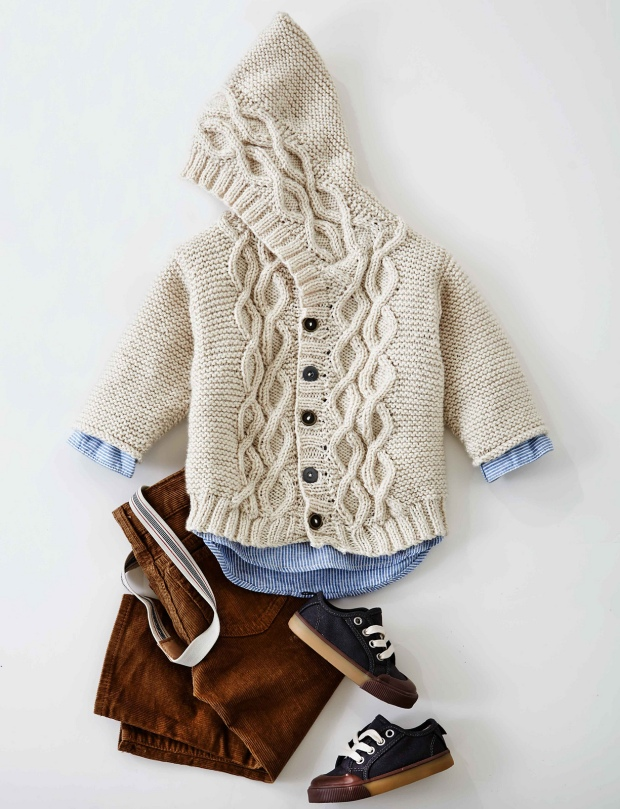 Free Pattern Friday Cabled Knit Cardigan By Patons Espace Tricot Blog
