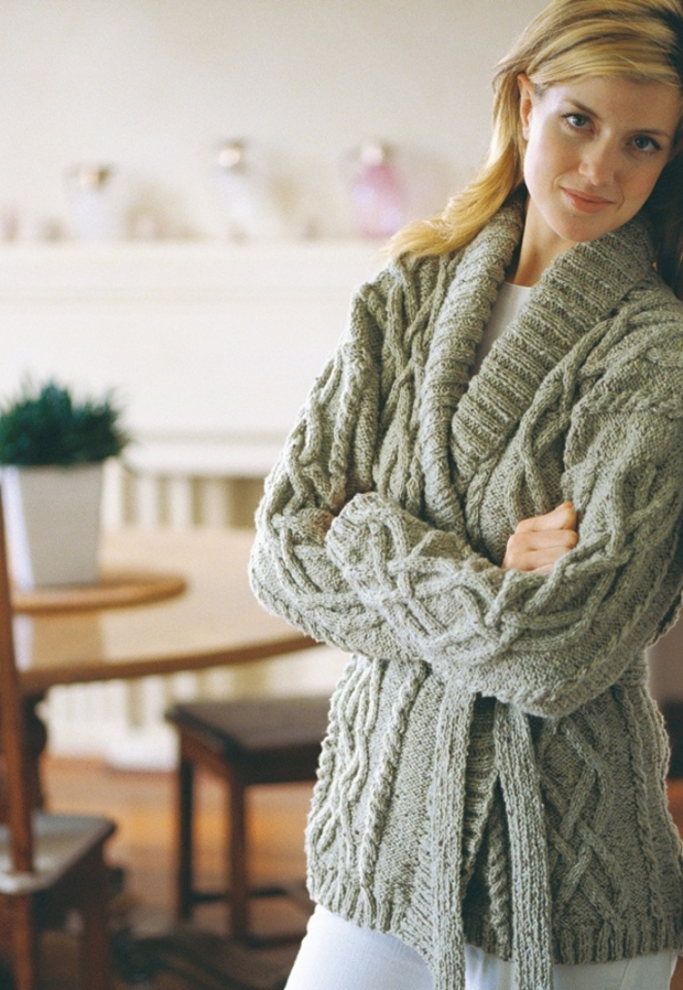 Perfect Aran Knitting Patterns To Download Gift Easy Scarf