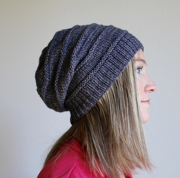 Free pattern Friday  Favorite Knit Slouchy Hat by Jamie Sande ... eb91124bd94